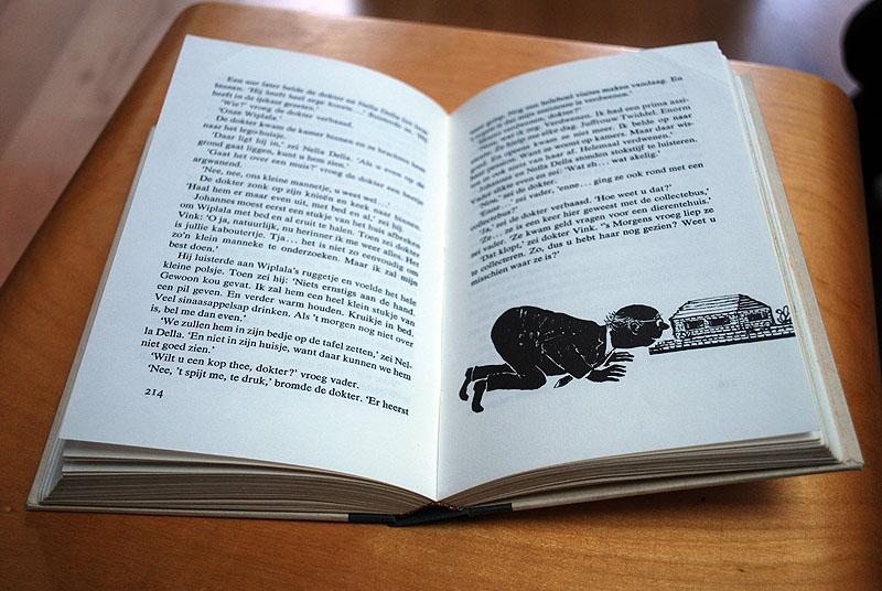 Een genaaid boek valt altijd mooi open