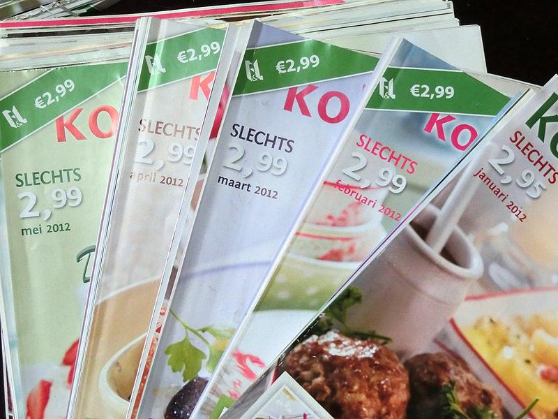De stapen tijdschriften