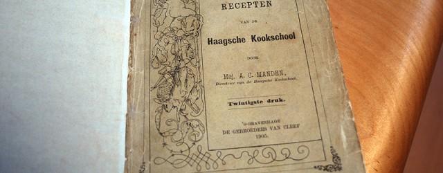 Ine had nog een mooie opdracht voor ons. Het kookboek waar haar oma uit had leren koken, aan de Haagsche […]