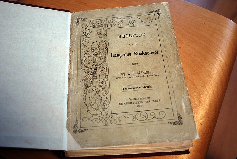 De oorspronkelijke kaft als eerste pagina