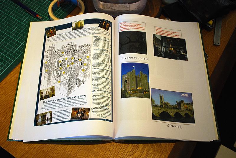 De inhoud van Ria's vakantieboek